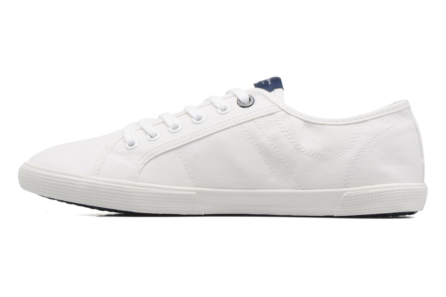 Baskets Pepe jeans Aberman 2.1 Blanc vue face
