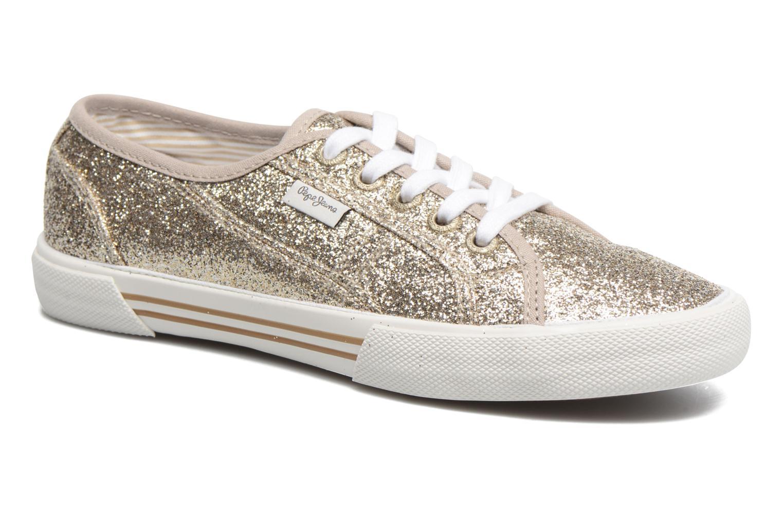 Grandes descuentos últimos zapatos Pepe jeans Aberlady Flash (Oro y bronce) - Deportivas Descuento