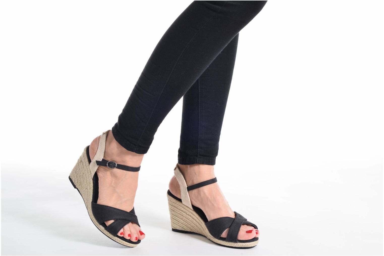 Sandales et nu-pieds Pepe jeans Shark Basic Noir vue bas / vue portée sac