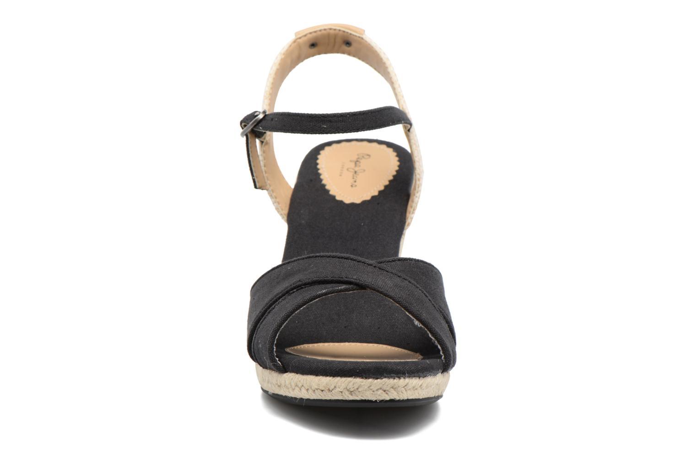 Sandales et nu-pieds Pepe jeans Shark Basic Noir vue portées chaussures