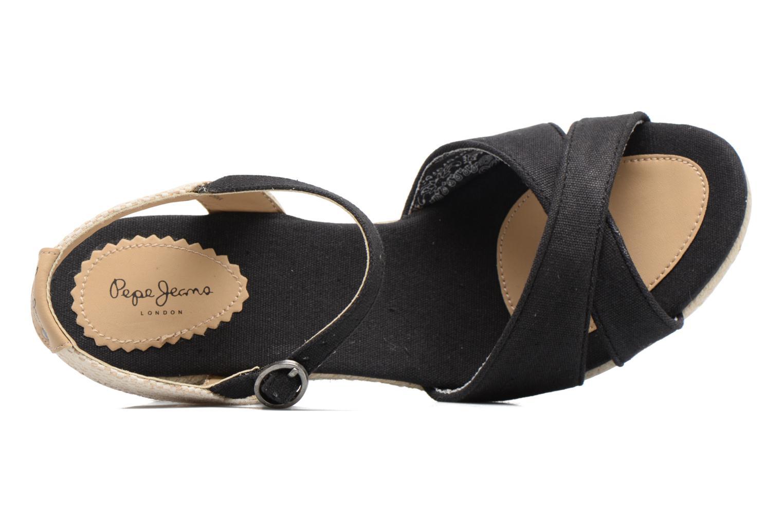 Sandales et nu-pieds Pepe jeans Shark Basic Noir vue gauche