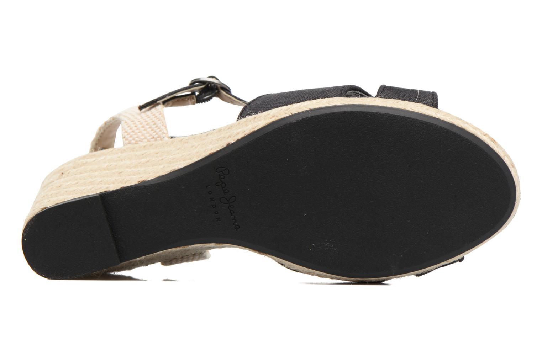 Sandales et nu-pieds Pepe jeans Shark Basic Noir vue haut