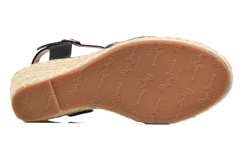 Sandales et nu-pieds Pepe jeans Kinney Parrot Noir vue haut
