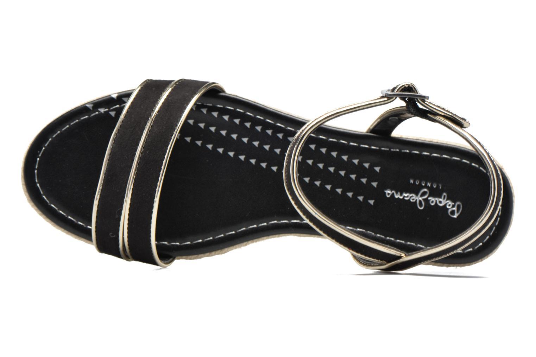 Sandalias Pepe jeans Venize Negro vista lateral izquierda