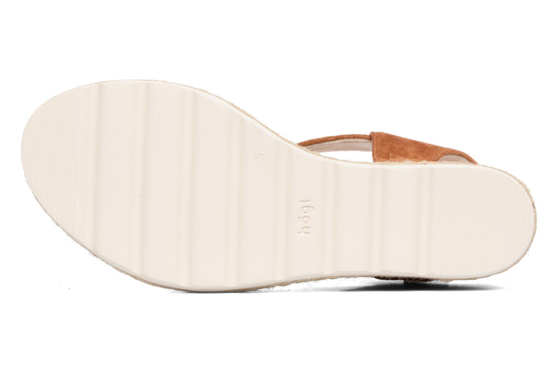 Sandali e scarpe aperte HÖGL Maja Marrone immagine dall'alto