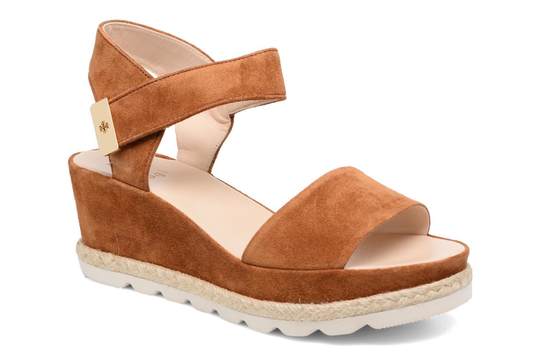 Sandaler HÖGL Maja Brun detaljeret billede af skoene