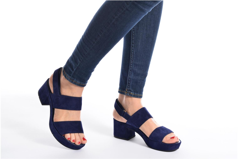 Sandales et nu-pieds HÖGL Lina Bleu vue bas / vue portée sac