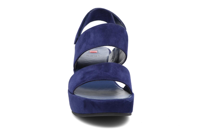 Sandales et nu-pieds HÖGL Lina Bleu vue portées chaussures
