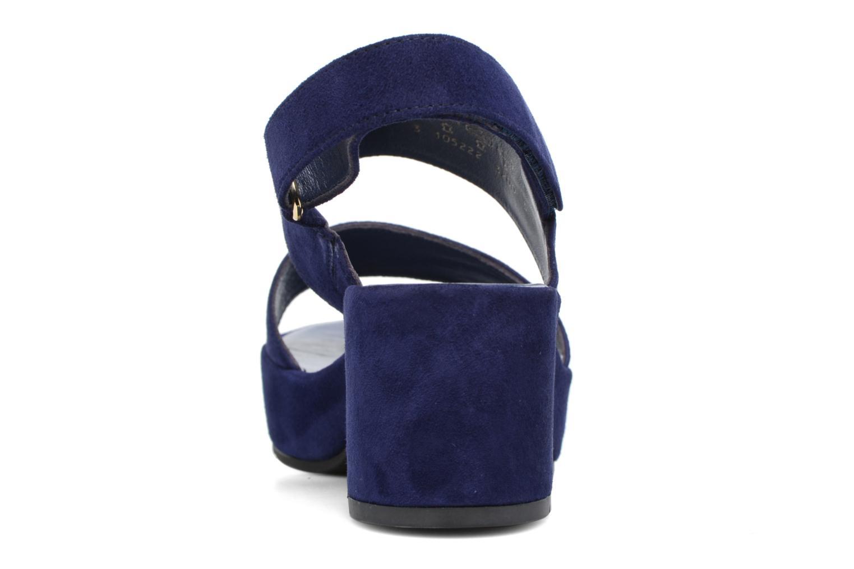 Sandales et nu-pieds HÖGL Lina Bleu vue droite