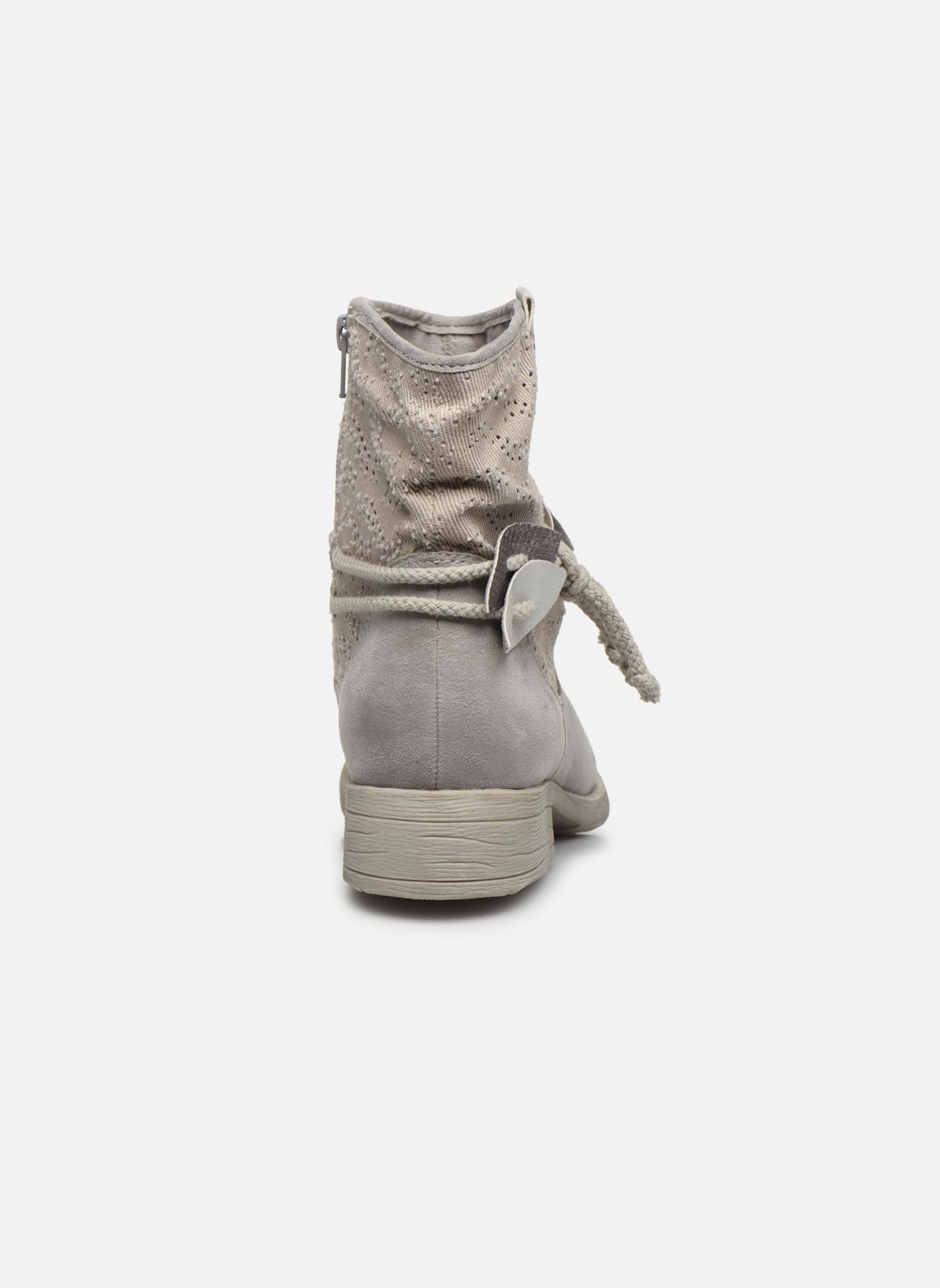 Bottines et boots Jana shoes Karen Gris vue droite