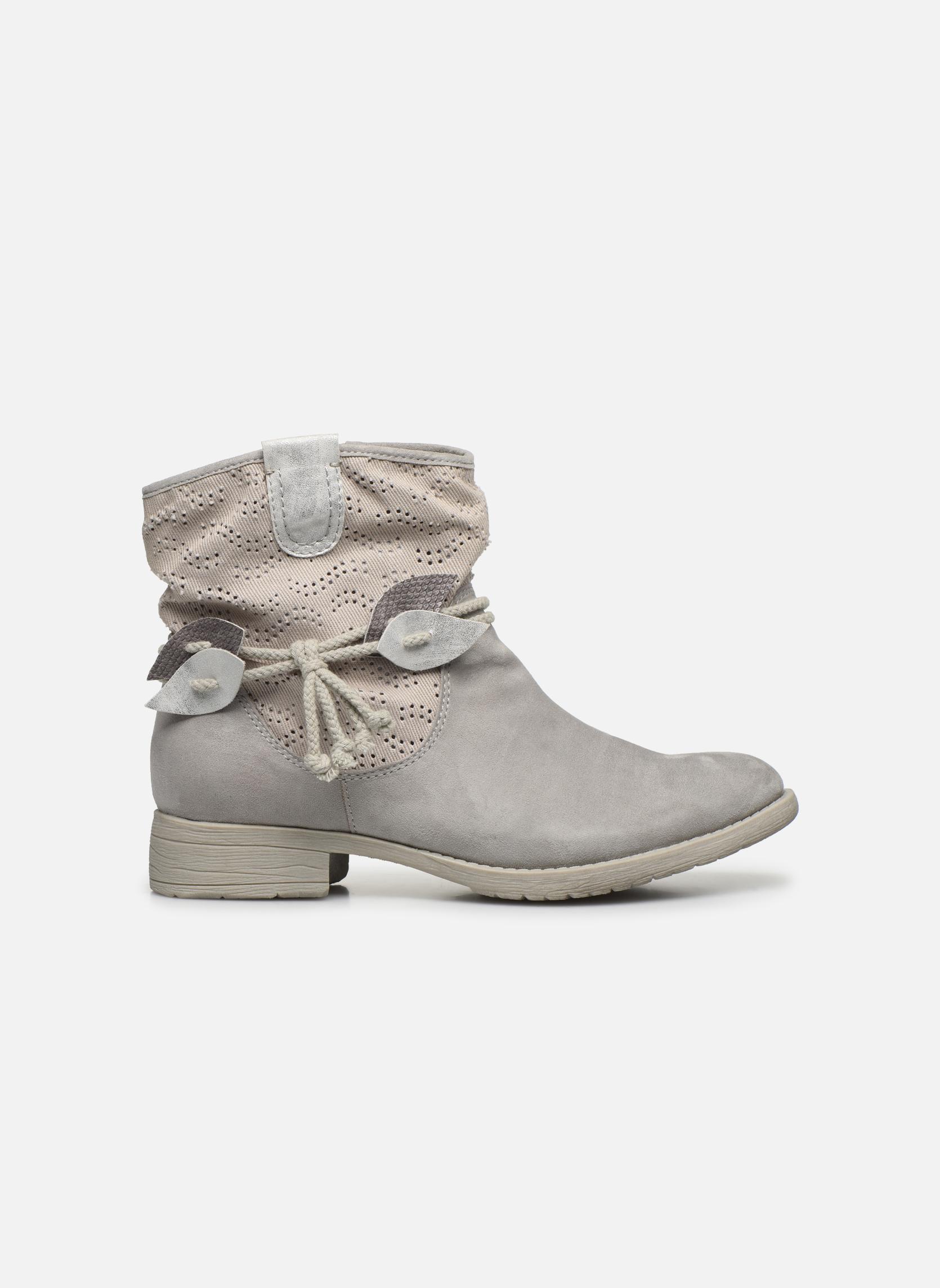 Bottines et boots Jana shoes Karen Gris vue derrière