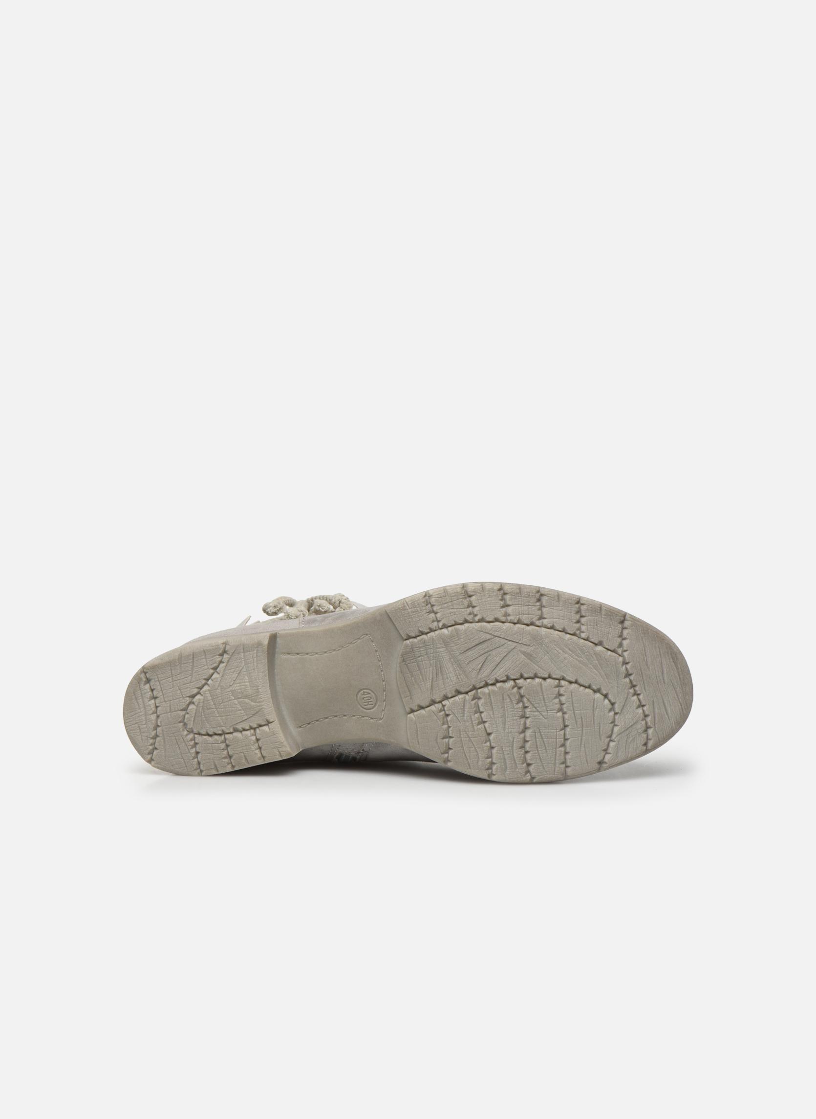 Bottines et boots Jana shoes Karen Gris vue haut