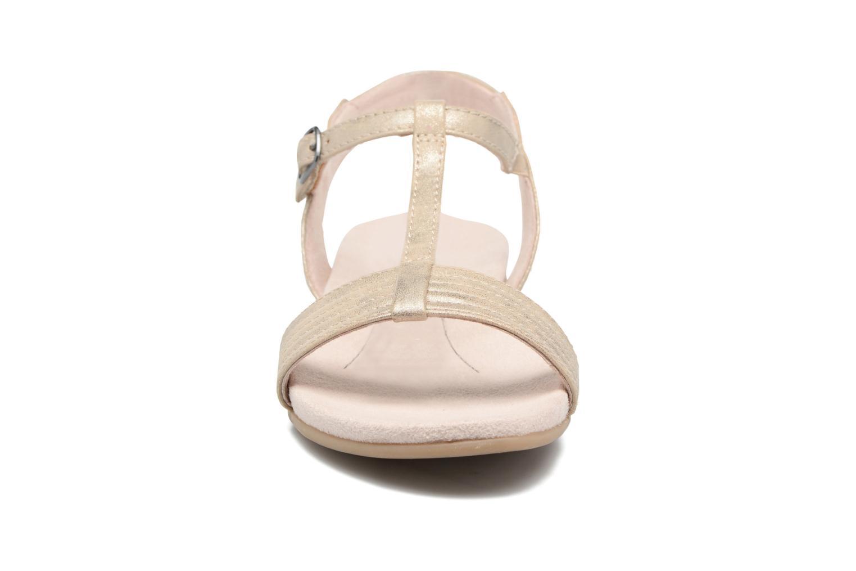 Sandales et nu-pieds Jana shoes Gillian Beige vue portées chaussures