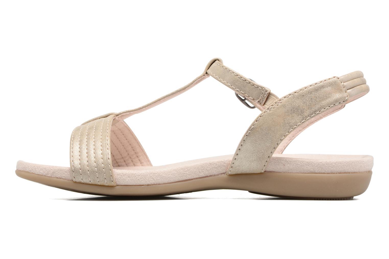 Sandales et nu-pieds Jana shoes Gillian Beige vue face