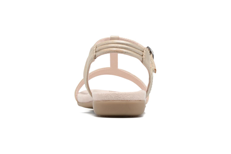 Sandales et nu-pieds Jana shoes Gillian Beige vue droite