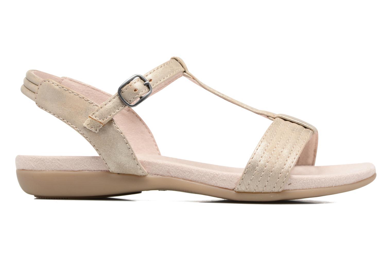 Sandales et nu-pieds Jana shoes Gillian Beige vue derrière