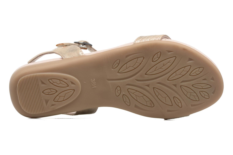Sandales et nu-pieds Jana shoes Gillian Beige vue haut