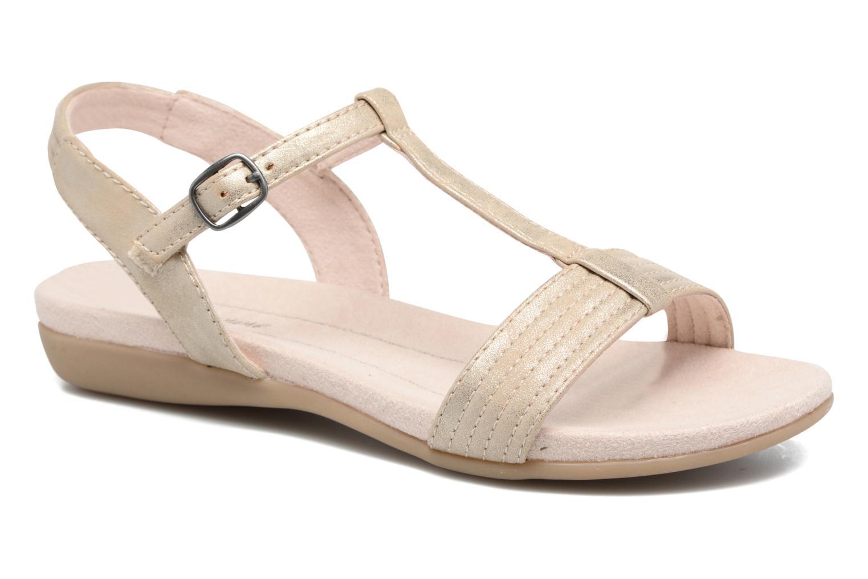 Sandales et nu-pieds Jana shoes Gillian Beige vue détail/paire