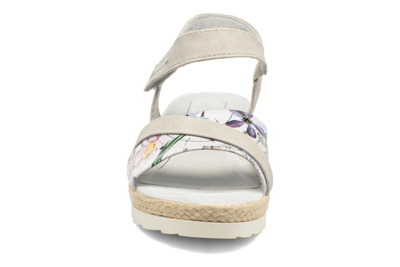 Sandales et nu-pieds Jana shoes Kata Beige vue portées chaussures