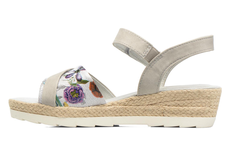 Sandales et nu-pieds Jana shoes Kata Beige vue face