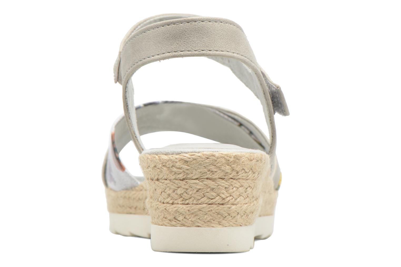 Sandales et nu-pieds Jana shoes Kata Beige vue droite