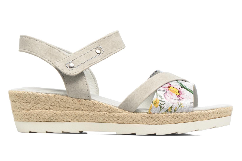 Sandales et nu-pieds Jana shoes Kata Beige vue derrière