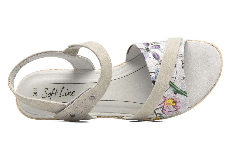 Sandales et nu-pieds Jana shoes Kata Beige vue gauche