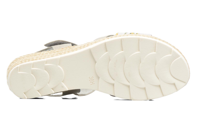 Sandales et nu-pieds Jana shoes Kata Beige vue haut