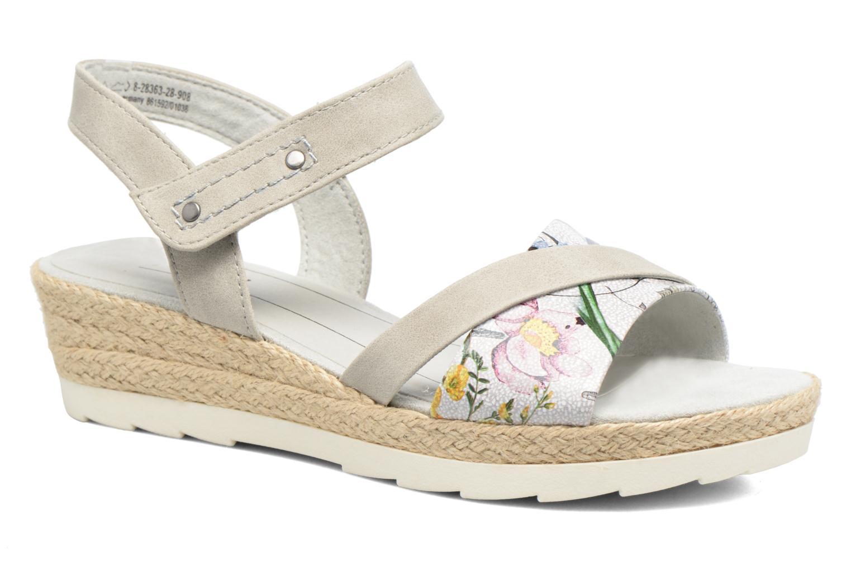 Sandales et nu-pieds Jana shoes Kata Beige vue détail/paire