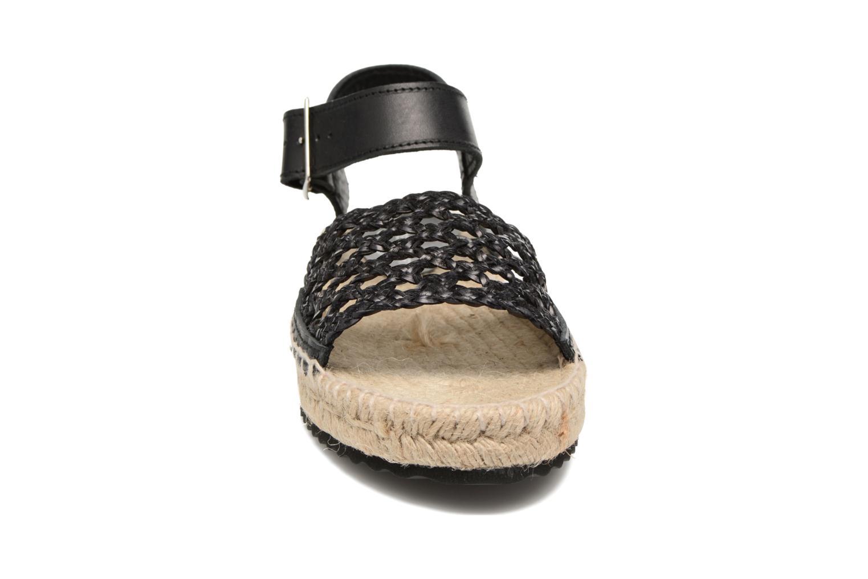 Espadrilles Elizabeth Stuart Nizza 910 Noir vue portées chaussures