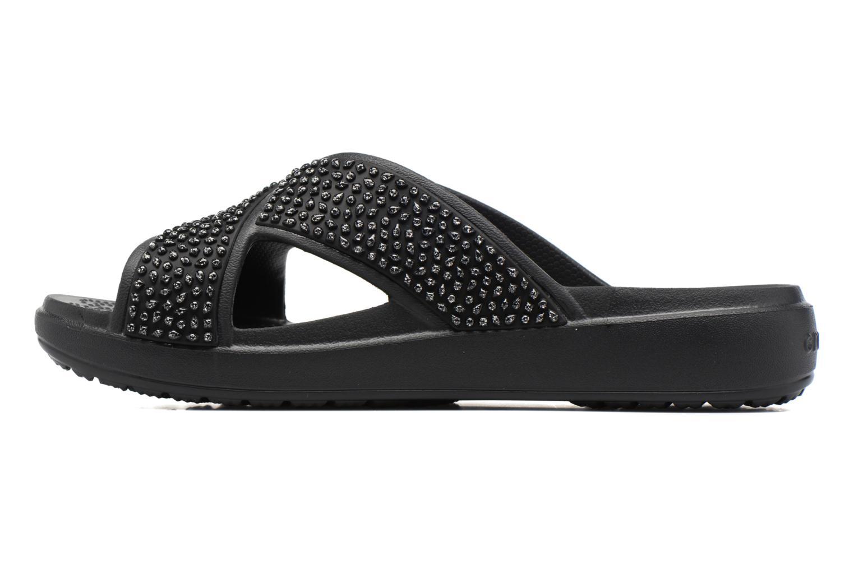 CrocsSloane Embellished Xstrap Black/black