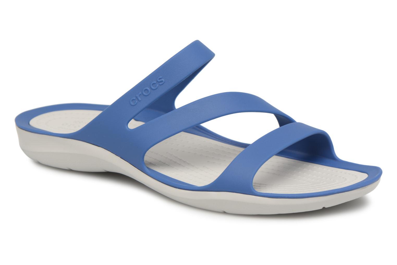 Crocs - Damen - Swiftwater Sandal W - Clogs & Pantoletten - schwarz 3Ny40
