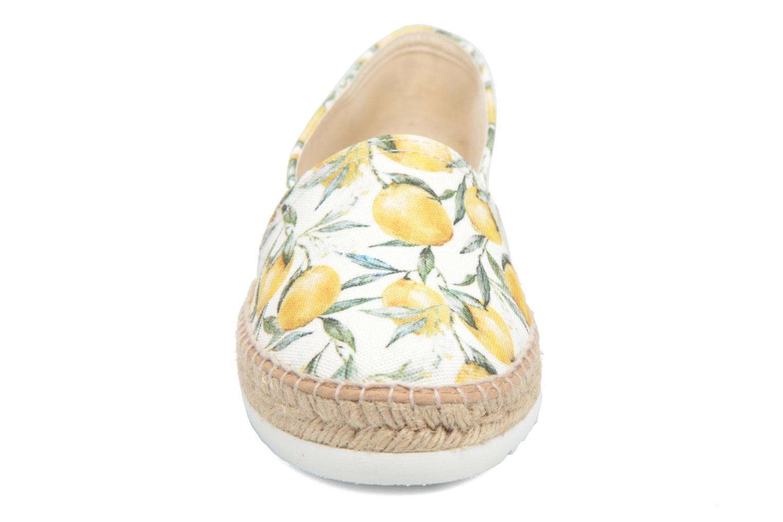 Espadrilles La maison de l'espadrille Espadrille 491 Blanc vue portées chaussures