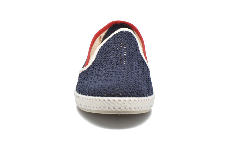 Mocassins Rivieras Le Grand Bleu Bleu vue portées chaussures