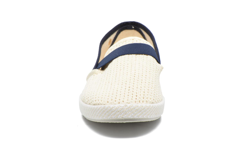 Mocassins Rivieras Code 20° Blanc vue portées chaussures