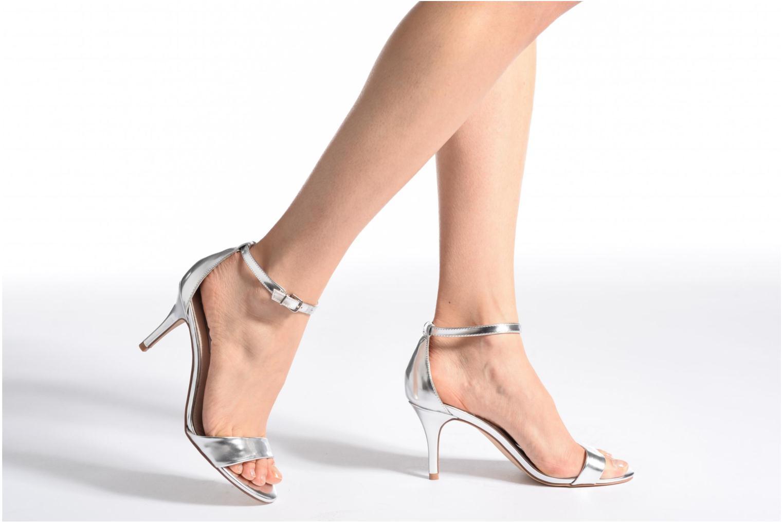 Sandales et nu-pieds Steve Madden Sillly Sandal Argent vue bas / vue portée sac