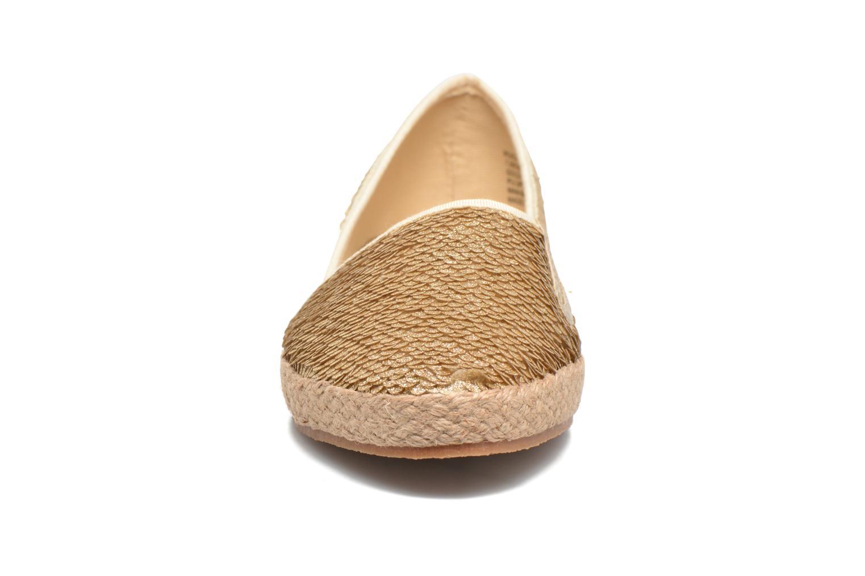 Espadrilles Steve Madden Peach-S Espadrille Or et bronze vue portées chaussures