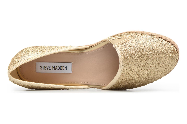 Espadrilles Steve Madden Peach-S Espadrille Or et bronze vue gauche