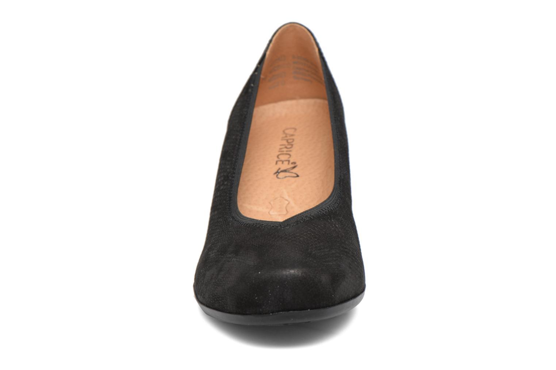 Escarpins Caprice Elena Noir vue portées chaussures