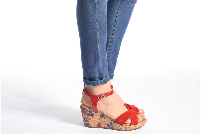 Sandales et nu-pieds Stonefly Marlene II Noir vue bas / vue portée sac