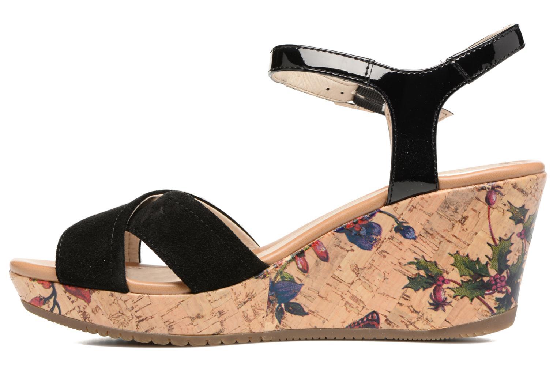 Sandales et nu-pieds Stonefly Marlene II Noir vue face