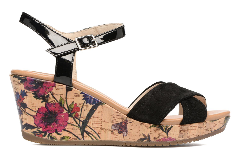 Sandales et nu-pieds Stonefly Marlene II Noir vue derrière
