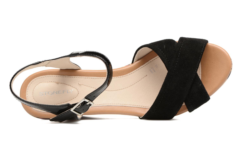 Sandales et nu-pieds Stonefly Marlene II Noir vue gauche