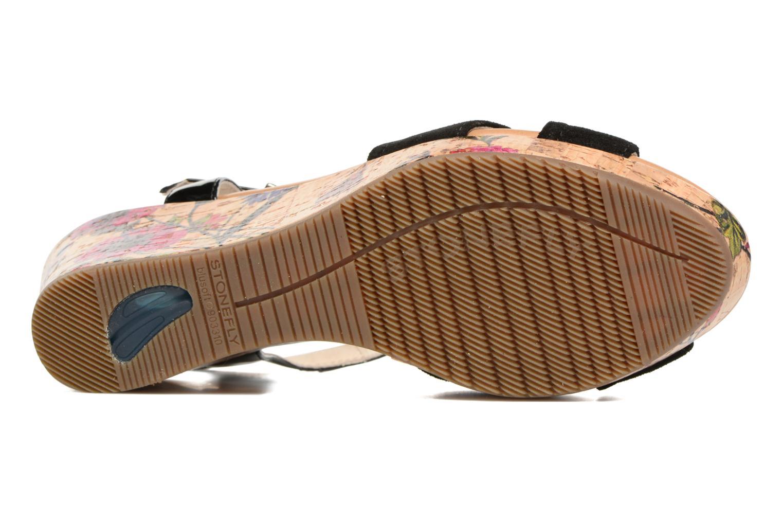 Sandales et nu-pieds Stonefly Marlene II Noir vue haut
