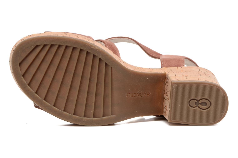 Sandales et nu-pieds Stonefly Carol 4 Marron vue haut