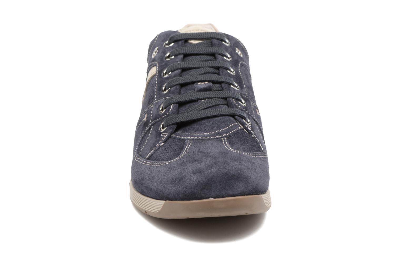 Baskets Stonefly London 1 Bleu vue portées chaussures