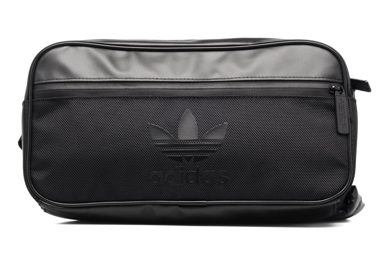 Sacs homme Adidas Originals CB BAG SPORT Banane Noir vue détail/paire