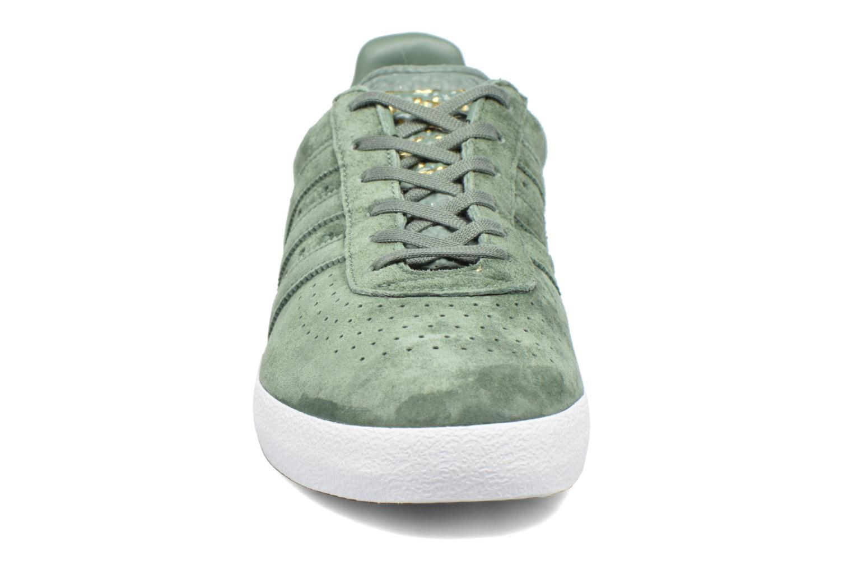 Baskets Adidas Originals Adidas 350 Vert vue portées chaussures
