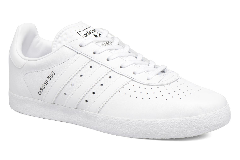 Baskets Adidas Originals Adidas 350 Blanc vue détail/paire