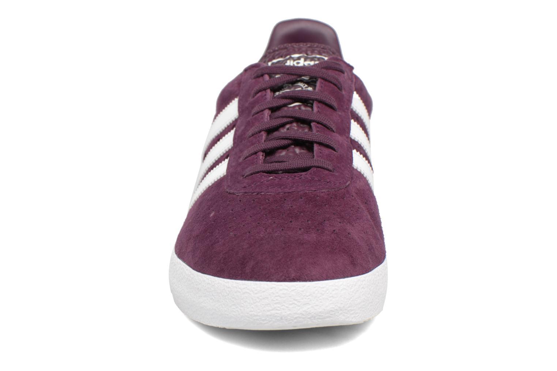 Sneaker Adidas Originals Adidas 350 weinrot schuhe getragen